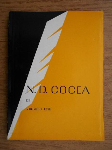 Anticariat: Virgiliu Ene - N. D. Gocea
