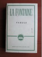 La Fontaine - Fabule (coperti cartonate)