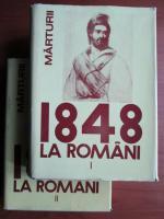 Anticariat: 1848 la romani (2 volume)