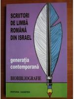 Anticariat: Scriitori de limba romana din Israel