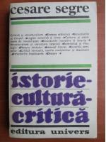 Cesare Segre - Istorie, cultura, critica