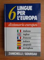6 lingue per l'Europa, dizionario europeo