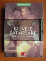 comperta: Miguel de Cervantes - Opere narative complete, volumul 3. Nuvele exemplare