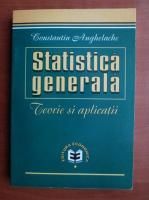 Constantin Anghelache - Statistica generala