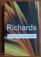I. A. Richards - Principles of literary criticism