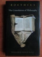 Boethius - The consolation of philosophy