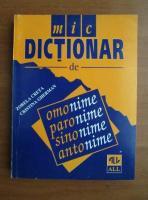 Zorela Creta - Dictionar de omonime, paronime, sinonime, antonime