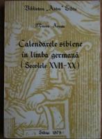 Anticariat: Mircea Avram - Calendarele sibiene in limba germana (secolele XVII-XX)