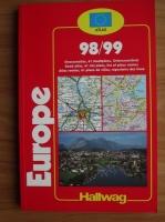 Europe 1999. Harta rutiera