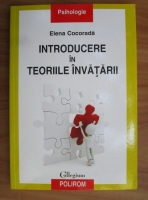 comperta: Elena Cocorada - Introducere in teoriile invatarii