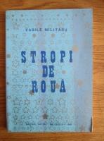 comperta: Vasile Militaru - Stropi de roua (Editura Nistru, Bruxelles, 1988)