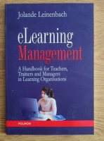 comperta: Jolande Leinenbach - eLearning Management. A Handbook for teachers, trainers and managers in learning organisations