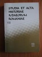 Anticariat: Studia et acta historiae iudaeorum romaniae (volumul 8)