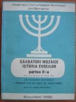 Alfred Harlaoanu - Istoria evreilor. Sarbatori mozaice