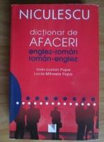 Ioan-Lucian Popa - Dictionar de afaceri englez-roman, roman-englez