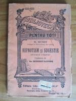Wilhelm Wundt - Hipnotism si sugestie