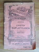 Seneca - Linistea sufleteasca