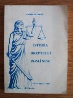 Florin Negoita - Istoria dreptului romanesc