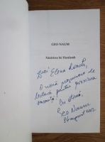 Geo Naum - Nazarirea lui Haralamb (cu autograful si dedicatia autorului)