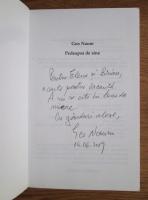 Geo Naum - Pedeapsa de sine (cu autograful si dedicatia autorului)