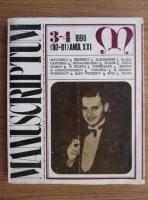 comperta: Revista Manuscriptum (nr. 3-4, 1990)
