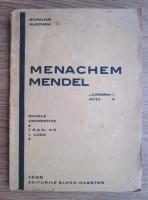 Salom Alechem - Menachem Mendel (1923)