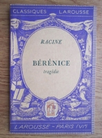 Anticariat: Jean Racine - Berenice. Tragedie