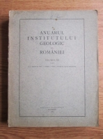 Anuarul institutului geologic al Romaniei (volumul 12, in limba franceza, 1927)