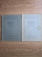Bibliografia geologica a Romaniei. Supliment (2 volume, 1929, 1939)