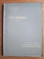 Marcela Dessila Codarcea - Memorii (volumul 6). Studiul geologic si petrografic al regiunii Rasinari Cisnadioara-Sadu