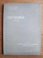 H. Savu - Memorii (volumul 8). Masivul eruptiv de la Barzava