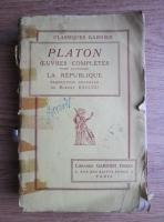 Platon - Oeuvres completes. Tome quatrieme: La Republique (1936)