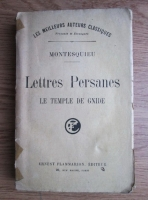 Montesquieu - Lettres Persanes. Le temple de Gnide (1929)