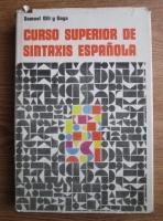 Samuel Gili y Gaya - Curso superior de sintaxis espanola