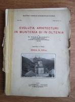 N. Ghika Budesti - Evolutia arhitecturii in Muntenia si in Oltenia. Veacul al 17-lea (partea a 3-a, 1933)