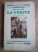 David Lloyd George - La verite sur les reparations et les dette de guerre (1932)