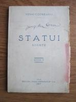 Mihai Codreanu - Statui. Sonete (1927)