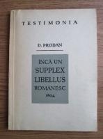 D. Prodan - Inca un supplex libbellus romanesc 1804