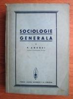 Petre Andrei - Sociologie generala (1936)