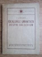 T. G. Masaryk - Idealurile umanitatii despre Bolsevism (1923)