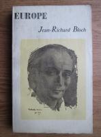 Europe, Nr. 135-136, Mars-Avril 1957: Jean-Richard Bloch