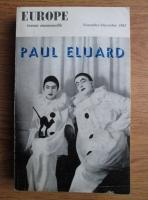 Europe, Nr. 403-404, Novembre-Decembre 1962: Paul Eluard
