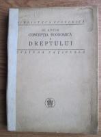 St. Antim - Conceptia economica a dreptului (1925)