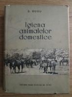 D. Rusu - Igiena animalelor domestice