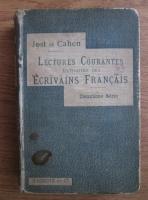 Anticariat: G. Jost - Lectures courantes extraites des ecrivains francasis (1905)