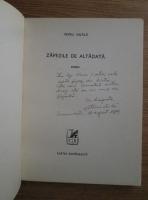 Petru Vintila - Zapezile de altadata (cu autograful si dedicatia autorului)