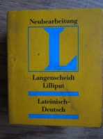 comperta: Langenscheidt-Deutsch Worterbuch (dictionar latin-german)