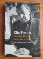 Anticariat: Elio Pecora - Sandro Penna: una cheta follia. Con una premessa dell autore