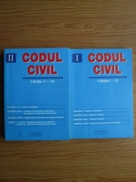 Codul civil. Cartile I-IV, V-VII (2 volume)