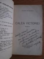 Cezar Petrescu - Calea Victoriei (cu autograful si dedicatia autorului)